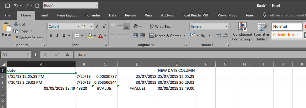 Change date format in query editor microsoft power bi community using a couple of your examples you will have to modify those dodgy ampm formatted date strings in excel first and create your own new date column that you publicscrutiny Gallery
