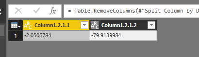 Solved: Extract Lat and Long from a Google URL keep in csv
