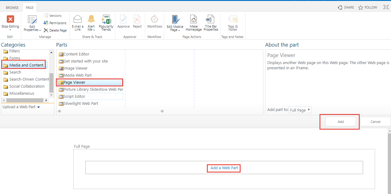 Solved: Embed Power BI report on SharePoint on-prem page