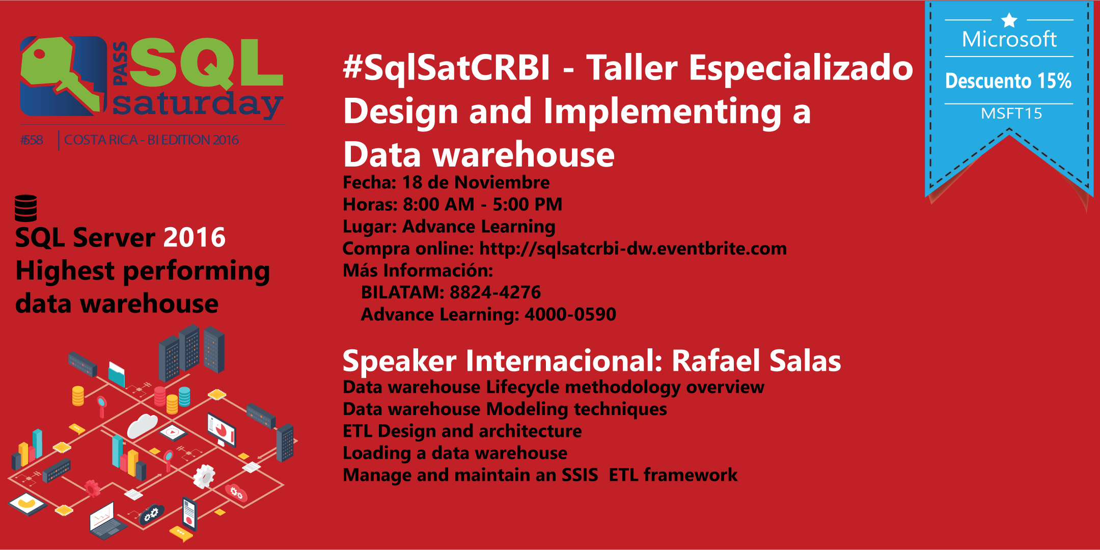 #SqlSatCRBI - Design and Implementing a Data warehouse