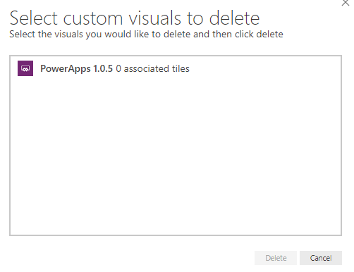 Solved: Problem with PowerApps Custom visual not showing i