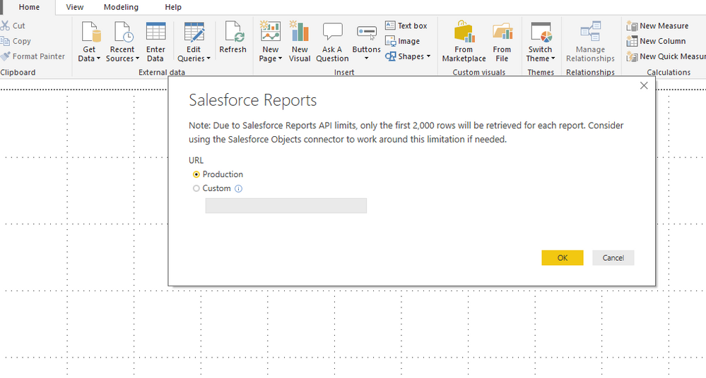 Solved: Re: Able to connect to salesforce Objects but not