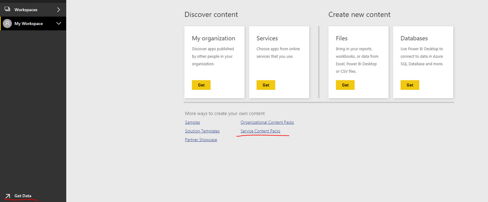 Solved: service now content pack - Microsoft Power BI Community
