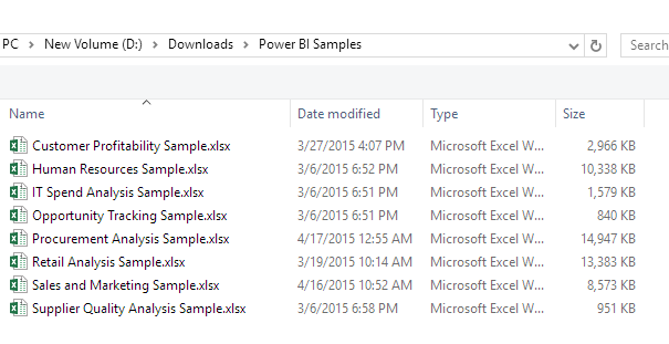 solved could not able to load sample excel files download