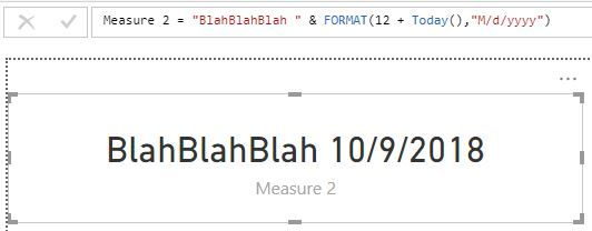 Solved: Formatting a date in a measure (DAX) - Microsoft