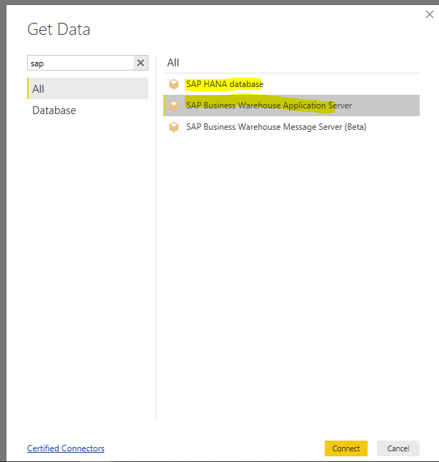 Solved: Re: SAP Hana Connector - Microsoft Power BI Community