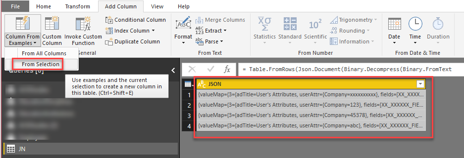 Solved: Transform content to JSON is not working - Microsoft Power