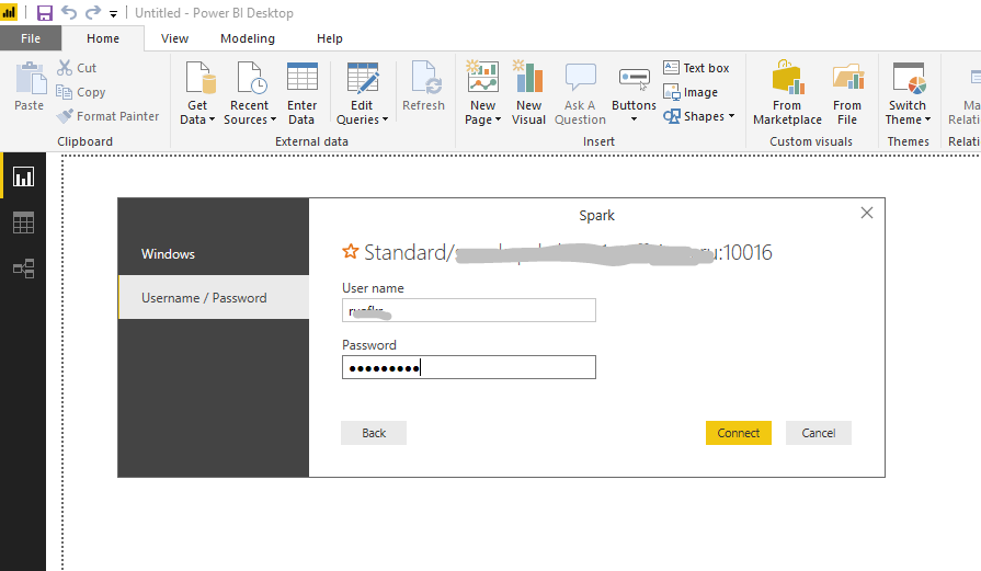 Solved: power bi support spark directquery on HDP HortonWo