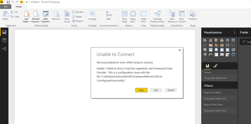 Configuring Power BI Connectivity to PostgreSQL Database - oxcrx34285