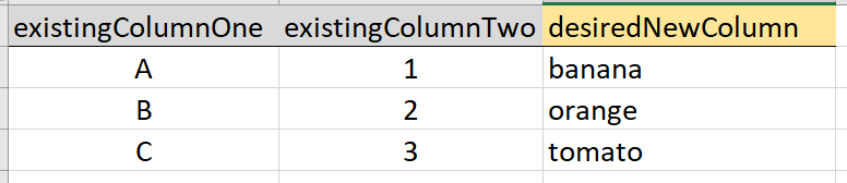 Solved: Power Query (M Language): How add a column and pup