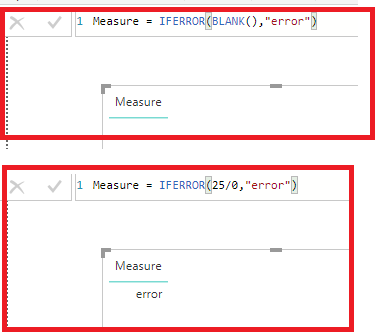 Solved: If error showing blank instead of value I want in