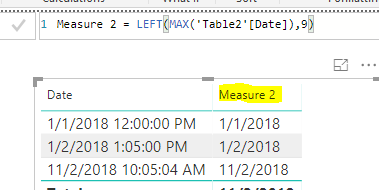 Solved: DAX - Extract Date from TimeStamp (contain date