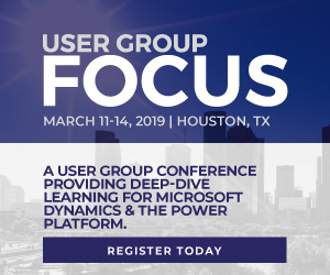 User Group Focus North America 2019