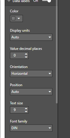 Solved: Value Decimal Places greyed out  Why? - Microsoft Power BI