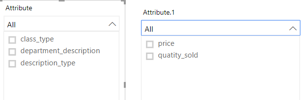 Solved: Filter a table with dropdown - Microsoft Power BI