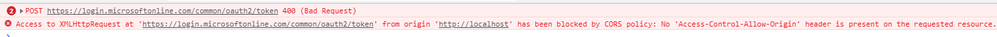 chrome console cors.PNG