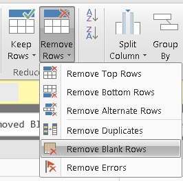 Solved: Delete all the row when there is null in one colum