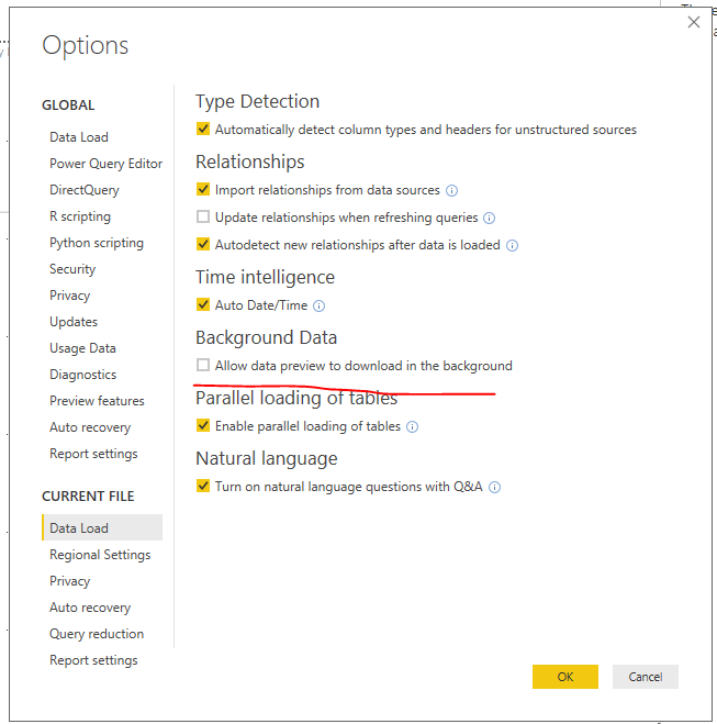 Data refresh gets stuck on Evaluating the first ti    - Microsoft