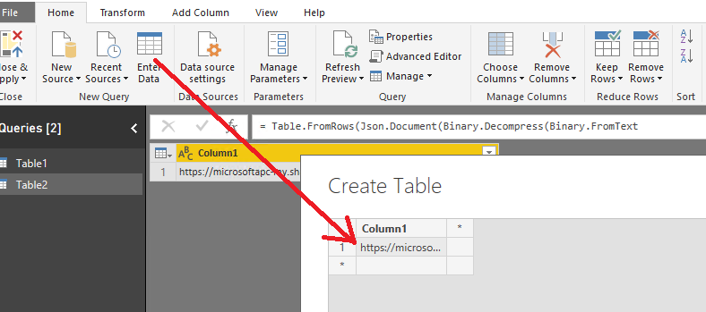 How to render a large HTML file in Power BI - Microsoft