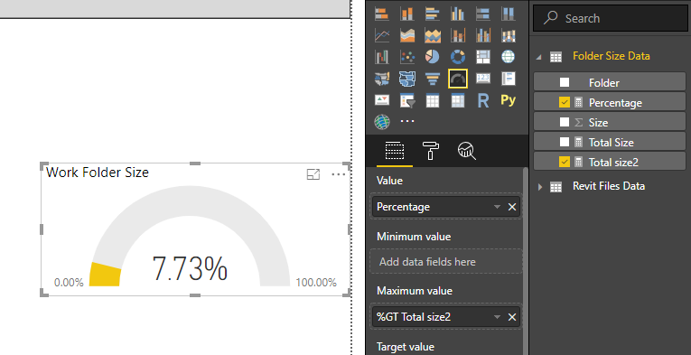 Solved: Gauge in relation with other data - Microsoft Power BI Community