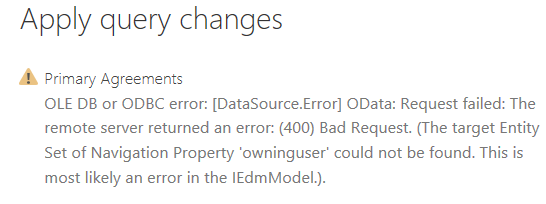 Power BI Report Refresh Fails after Upgrading Dyna    - Microsoft