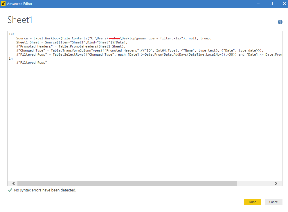 Solved: if with now() - Microsoft Power BI Community