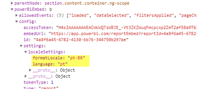 Solved: Setting language and locale for embedded report