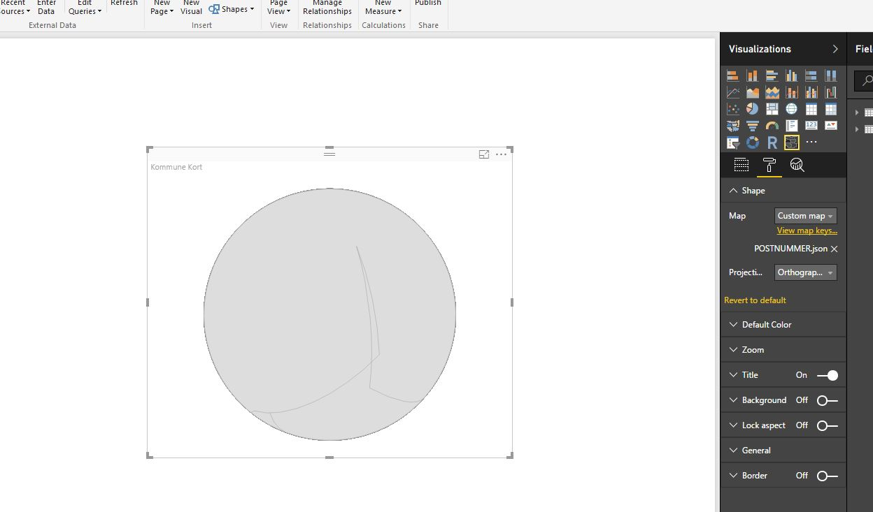 Solved: From Shapefile to TopoJSON for shape map - Microsoft Power