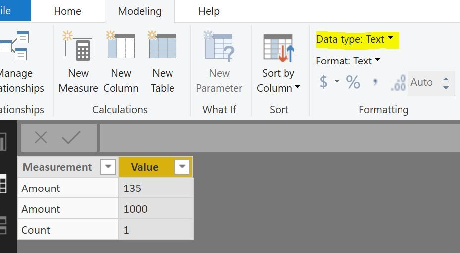 Solved: Changing column format according to value