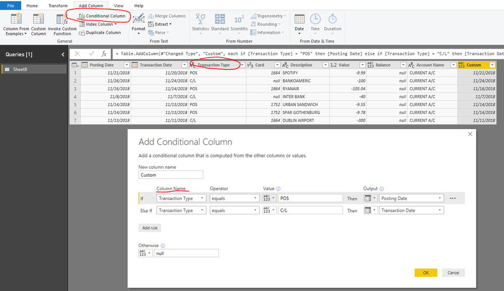 Solved: Conditional Column with Power Query - Microsoft
