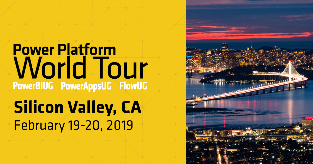 Power Platform World Tour - Silicon Valley