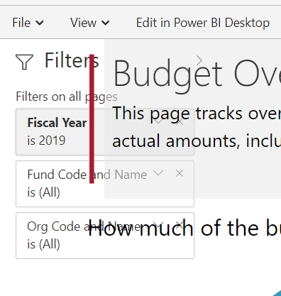 Solved: Jan19 release issue - new filter pane appears on l