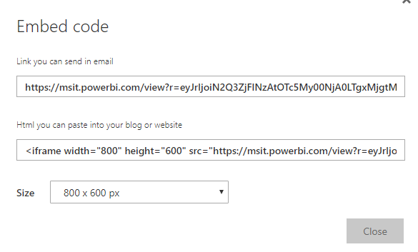 Solved: Sharing using the URL - Microsoft Power BI Community