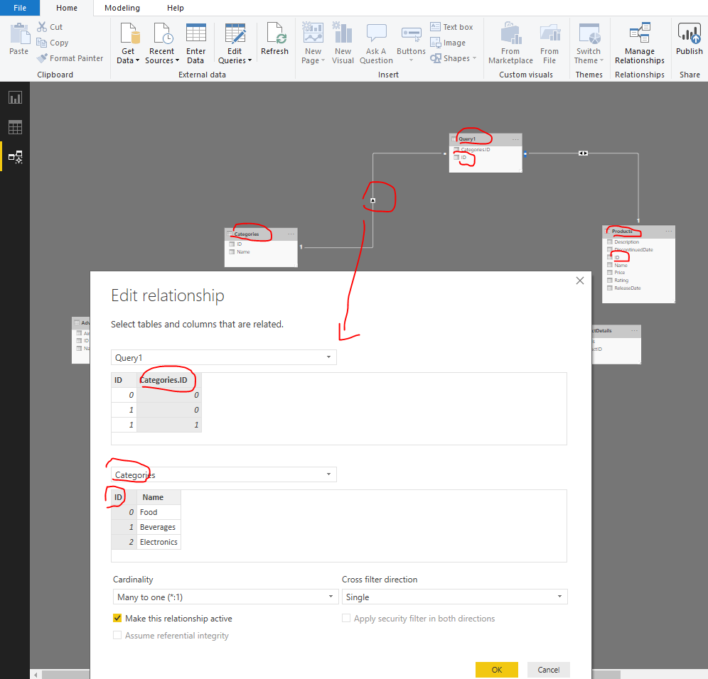 Solved: nested oData, XML, JSON data in Power BI model
