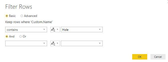 Solved: Text contains filter not working in power query