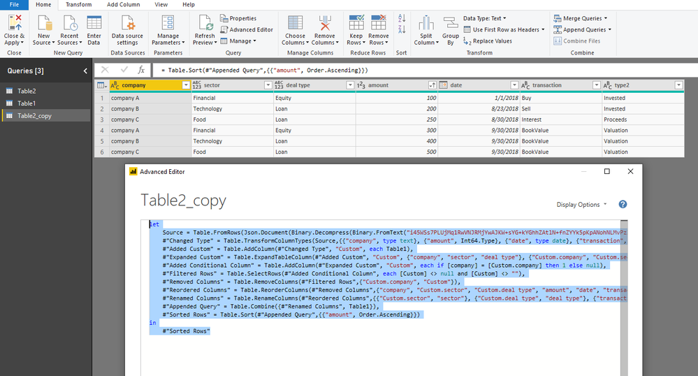 Solved: Combining 2 tables - Microsoft Power BI Community