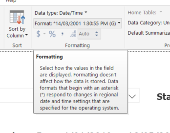 Solved: Date Format differences between desktop and online