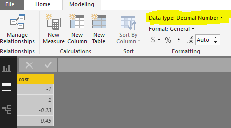 Solved: Cannot convert a negative text to decimal