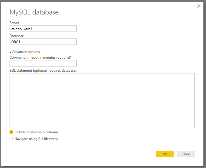 Solved: Verify the use of 'Import' or 'Direct Query' - Microsoft