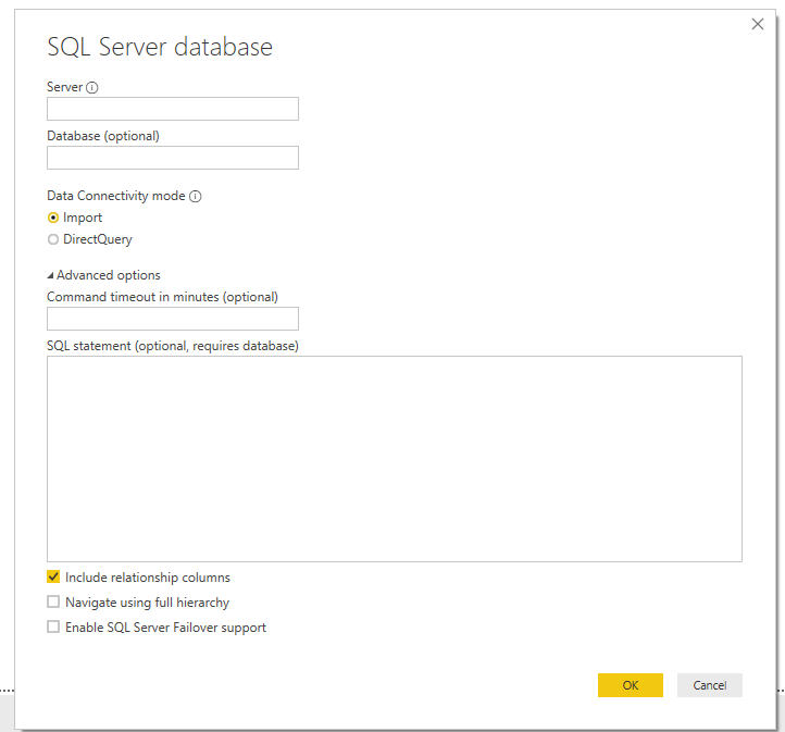 PowerBI connection issue  The received certificate