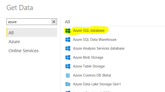 How to change the Data source connection from 'SQL    - Microsoft