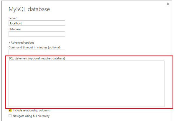 Fill 1 table with 1 MySQL query executing on multi
