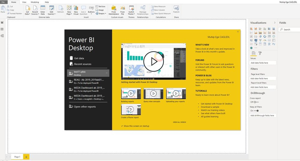 Solved: Can't upload reports to the Power Bi server folder