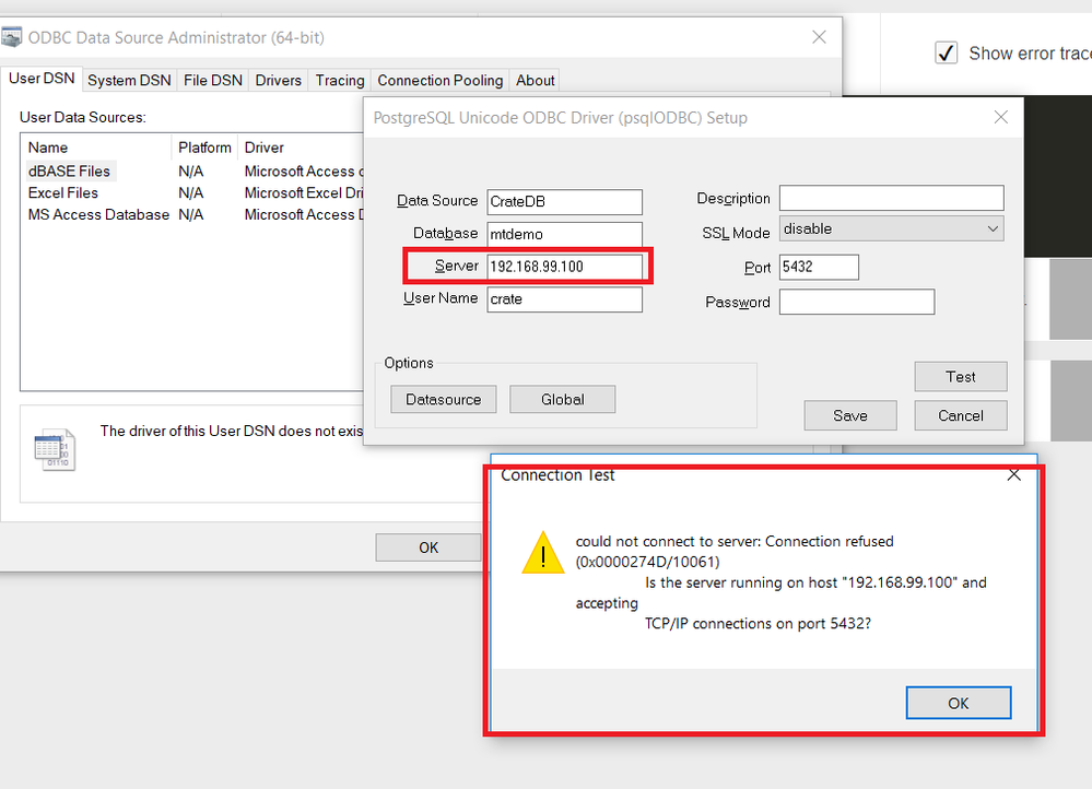 How to connect PowerBI with Crate Database? - Microsoft