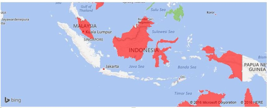 Filled map possible bug indonesia microsoft power bi community however i find it strange that there doesnt seem to be a problem when i apply a filter to this visual to only show indonesia gumiabroncs Choice Image
