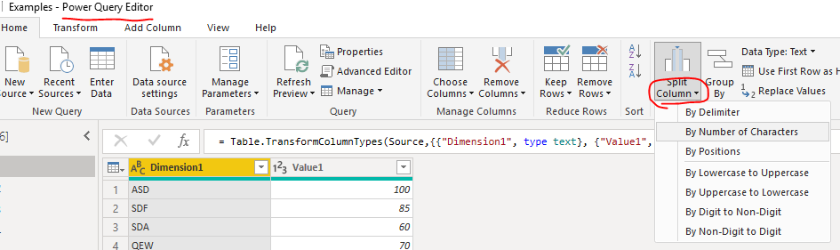 Splitting out column data to show as 2 columns for a table..PNG