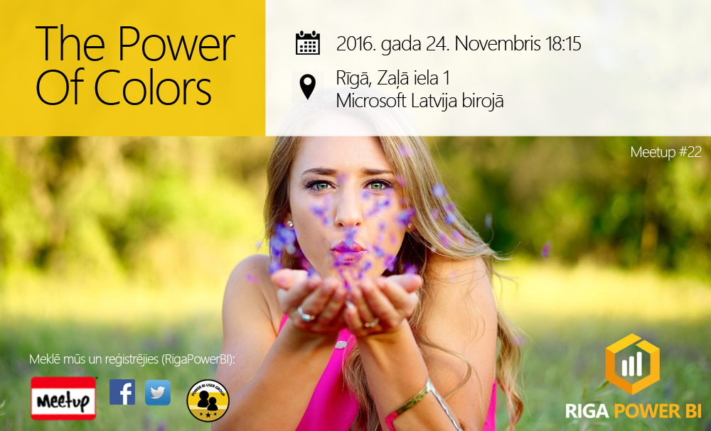 Power of colors - how to find right colors for your reports