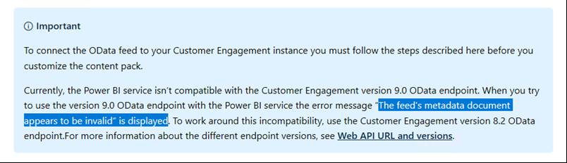 Solved: Dynamics365 API v9 connection issues - Microsoft