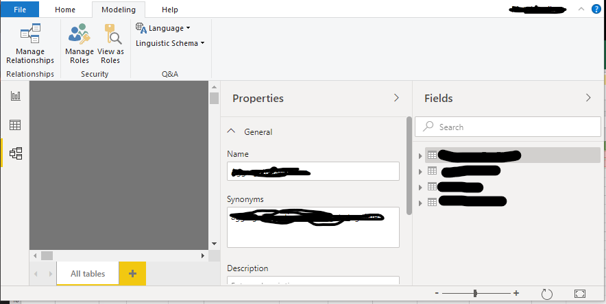 Solved: Missing Synonyms button in Ribbon - Microsoft Power BI Community