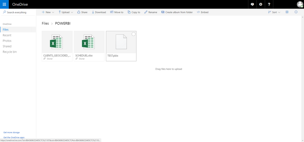 Solved: Re: Mac user - PowerBI file on Onedrive - Source f